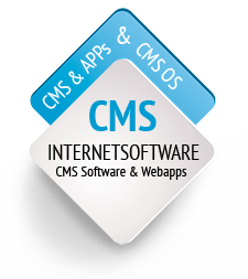 CMS Internetsoftware: CMS Systeme, LMs Software, CMS OS